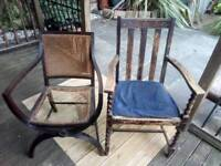 2 Old Chairs for Refurbishment