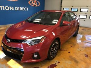 2014 Toyota Corolla S 'S' PACK/ SUNROOF/ ALLOYS/ HEATED SEATS