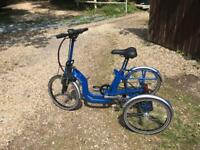 Di Blasi power assisted folding tricycle