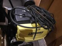 Karcher hot water jet wash (diesel/electric) and karcher professional valeting machine