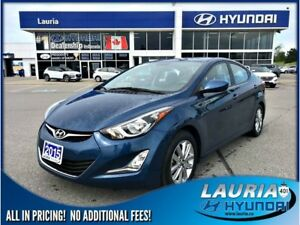 2015 Hyundai Elantra GL Sport Appearance - Low kms / Sunroof