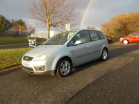 FORD FOCUS C-MAX ZETEC TDCI DIESEL MPV 6 SPEED STUNNING 2004 BARGAIN ONLY 850 *LOOK* PX/DELIVERY