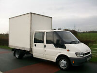 VAN HIRE, YOU LOAD & OUR MAN DRIVES SOFAS, REMOVALS, BEDS, WARDROBES,FREEZERS,FURNITURE,STUDENTS ETC