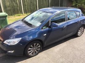Vauxhall Astra 1.6 VVT I exclusiv 16V petrol / 9 MONTHS MOT/FULL SERVICE HISTORY