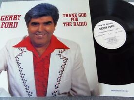 Gerry Ford ‎– Thank God For The Radio Trim Top ‎– TT103 Vinyl, LP, Stereo 1986