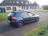 VW GOLF 2.0 GT TDI SPORT MK5 FSH RELIABLE DERV BOOSTER NEW PARTS FITTED SMOOTH CAR