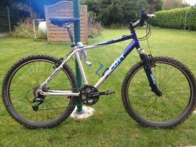 Scott mountain bike, perfect condition!