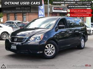 2008 Honda Odyssey EX-L ACCIDENT FREE! ONE OWNER!