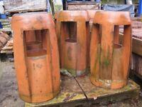 Reclaimed Georgian Clay Chimney Pots