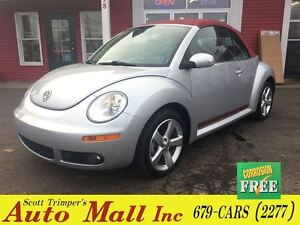 2009 Volkswagen New Beetle Convertible Silver-Red Edition