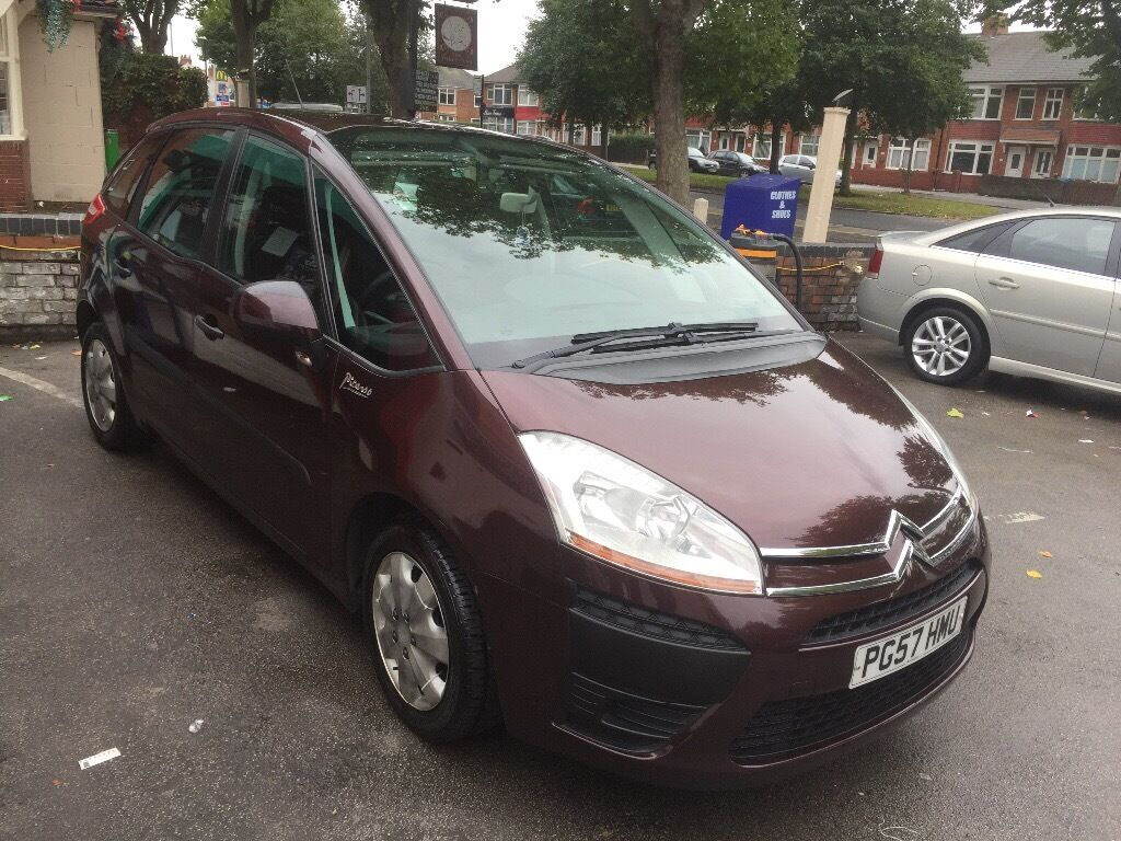 57 plat in 2008 reg Citroen C4 nice family car run and drive perfact in perfect condition
