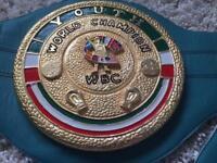 WBC YOUTH WORLD TITLE BELT