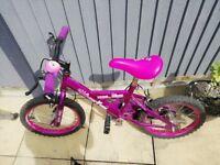 """Girls bike 16""""wheels"""