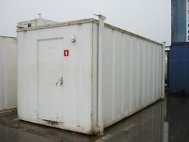 "20ft x 8ft Anti Vandal Portable Cabin Site Office Welfare Unit ""IN STOCK"" shipping container shed"