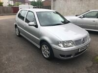 VOLKSWAGEN POLO 1.4 SE AUTOMATIC ONLY 6000 MILES!!! YEARS MOT