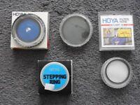 Various lens filters