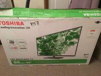 "Toshiba 39"" LED Full (1080p) HD TV (Like New) 39L2333D"