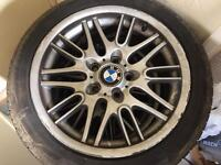 BMW wheels 5 by 120. 17 inch