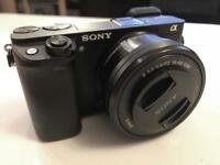Sony A6300 4K mirrorless camera with the 16-50 kit lens