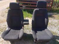 Vw t4 transporter front seats.