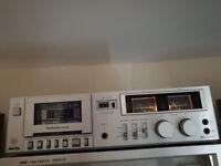 Technics m205 vintage cassette deck