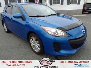 2013 Mazda MAZDA3 GX $111.76 BI WEEKLY!!!