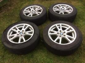 *PRICE REDUCTION* BMW X3 17 inch Alloy Winter Wheels with Tyres 235/55 R17
