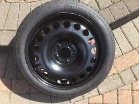 Vauxhall Astra Space Saver Wheel