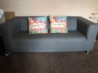 Two Seater Ikea Klippan Sofa x 2