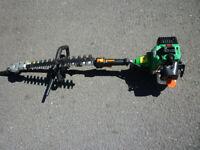TCK Petrol Garden Triimer with Hedge trimmer strimmer