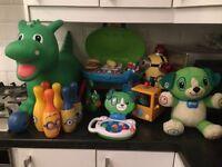 Toy bundle (Leapfrog, minions ect)