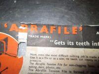 Abrafile sawing file - ref 0.024kgc4-344AC192290