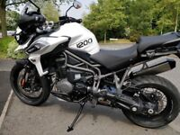 Triumph Tiger 1200 XCX For Sale - 2018 Model - Nearly New - Only 400 miles!!