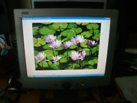 AOC 14 inch monitor good condition 10 pounds