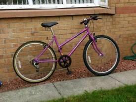 Girl's Raleigh Bicycle