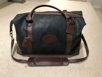 MULBERRY Scotchgrain Holdall Duffle Luggage Suitcase RRP £695