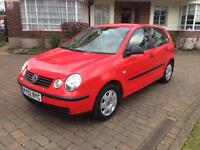 Volkswagen polo 1.4 petrol Manual 2003 QUICK SALE NEED IT GONE