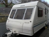 Bailey Ranger Four Berth Touring Caravan Included Full Awning