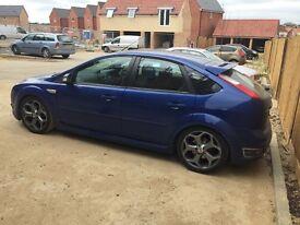 5 Door Blue Ford Focus ST-2. FSH. 70k. After market exhaust. £6,500