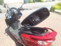 Sym Joyride 200i evo scooter with full service history, 171cc, delivery possible