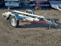 Motorcycle trailer for two motors NEW 2018 2m 750kg