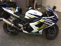 Suzuki gsxr 1000 Worx races colours 2008