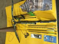 Excalibur archery equipment and moose call