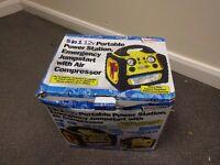 Portable Power Pack 5 in 1 900 Amps 17ah 240v Inverter Jump Starter