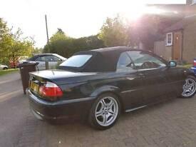 Bmw 318ci Msport Automatic. Black with cream leather
