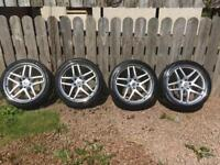 20 inch alloys and tyres. VW T5/Tourag, BMW, Range Rover.