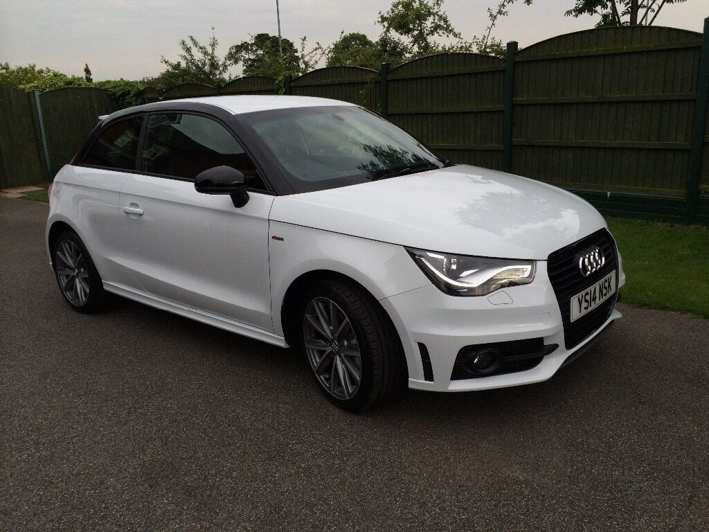 audi a1 s line style edition white 1 6 tdi 14 plate 29000 miles with servicing in wakefield. Black Bedroom Furniture Sets. Home Design Ideas