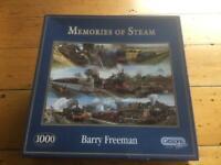 Jigsaw - Memories of Steam - 1000 pieces