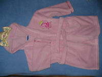 Bundle of Princess Peppa Pig dressing gowns/robes for 3-4, 4-5 and 5-6 years in very good condition.