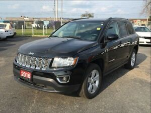 2016 Jeep Compass NORTH**LEATHER**SUNROOF**6.5 INCH TOUCHSCREEN*